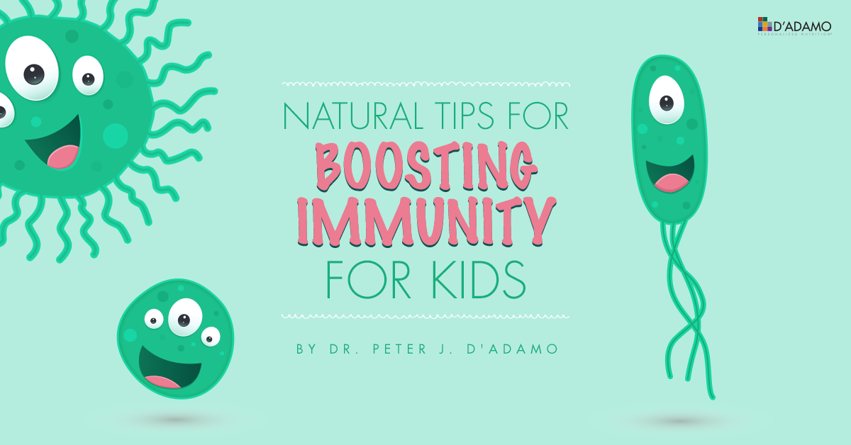 Tips for Boosting Immunity for Kids