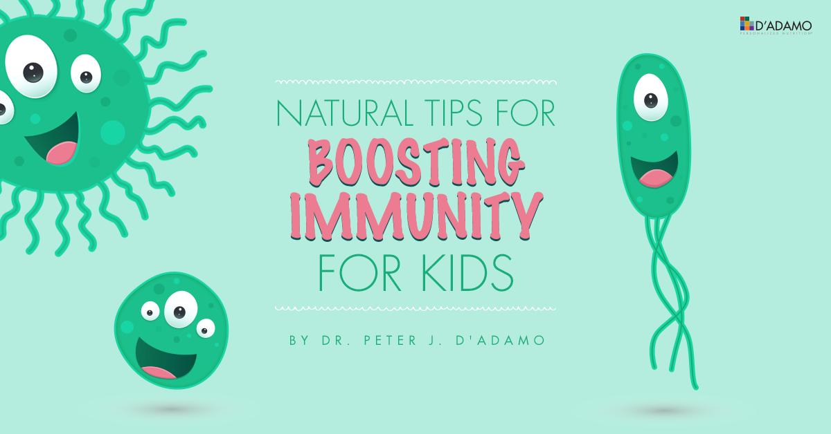 Tips for Boosting Immunity for Kids