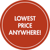 Lowest Price Anywhere