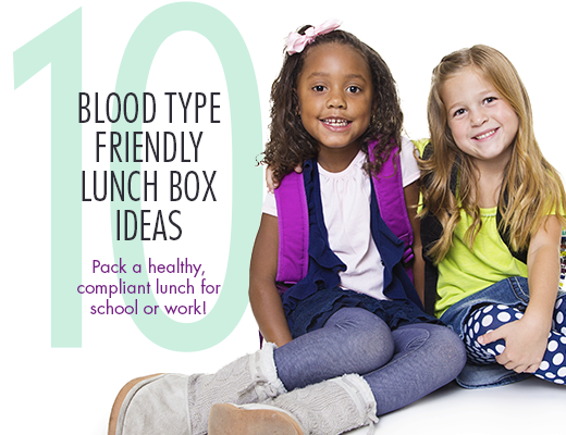 10 Blood Type Friendly Lunch Box Ideas