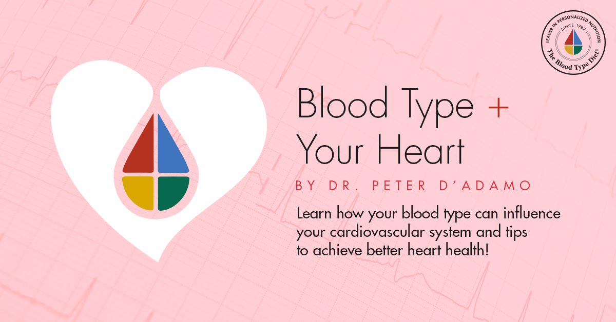 Blood Type & Your Heart by Dr. Peter D'Adamo