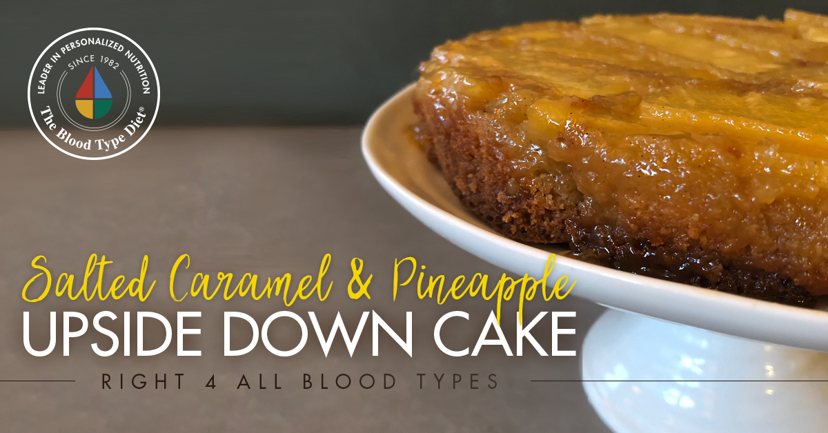 Salted Caramel & Pineapple Upside Down Cake