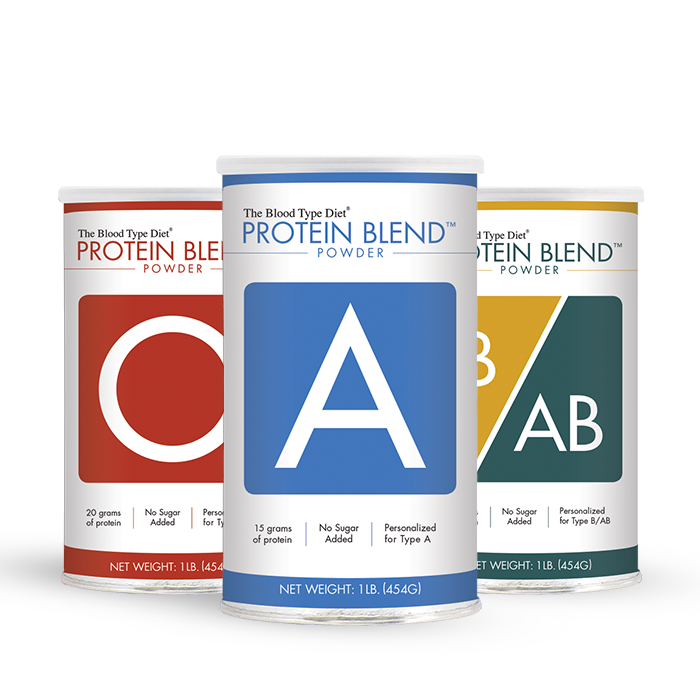 Protein Blend Powder - Blood Type Specific