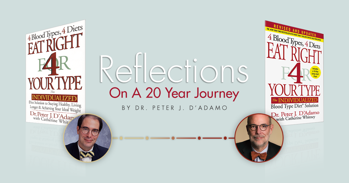 Reflections On A 20 Year Journey