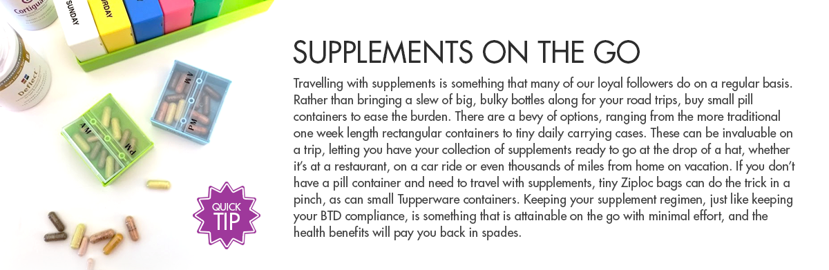 Supplements on the go