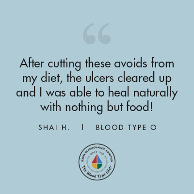 Shai H. - Blood Type Diet Success Story