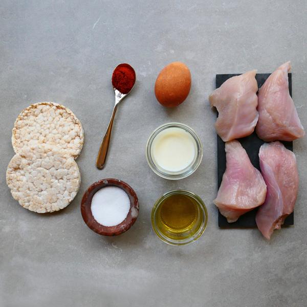Crispy Turkey Tenders Ingredients