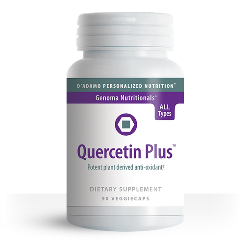 Support a healthy cardiovascular and immune system with Quercetin Plus.