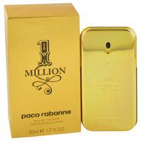 1 Million By Paco Rabanne 1.7 oz Eau De Toilette Spray for Men