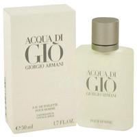 Acqua Di Gio By Giorgio Armani 1.7 oz Eau De Toilette Spray for Men