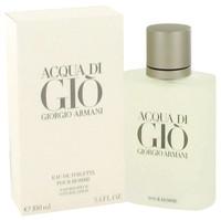 Acqua Di Gio By Giorgio Armani 3.3 oz Eau De Toilette Spray for Men