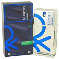 B United Jeans By Benetton 3.3 oz Eau De Toilette Spray for Men