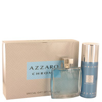 Chrome By Loris Azzaro Gift Set with 5 oz Deodorant Spray for Men