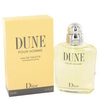 Dune By Christian Dior 3.4 oz Eau De Toilette Spray for Men