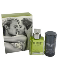 Eternity By Calvin Klein Gift Set with Deodorant Stick(Alcohol Free) for Men