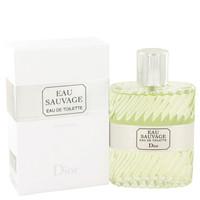 Eau Sauvage By Christian Dior 3.4 oz Eau De Toilette Spray for Men