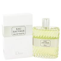 Eau Sauvage By Christian Dior 6.6 oz Eau De Toilette Spray for Men