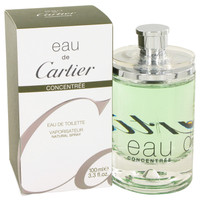 Eau De Cartier By Cartier 3.4 oz Eau De Toilette Spray Concentree Unisex