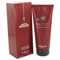 Habit Rouge By Guerlain 6.8 oz Hair & Body Shower Gel for Men