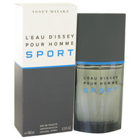 L'Eau D'Issey Pour Homme Sport By Issey Miyake 3.4 oz Eau De Toilette Spray for Men