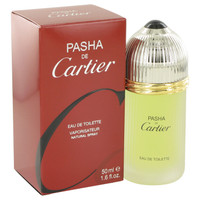 Pasha De Cartier By Cartier 1.6 oz Eau De Toilette Spray for Men