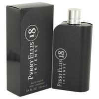 18 Intense By Perry Ellis 3.4 oz Eau De Toilette Spray for Men