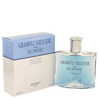 Quartz Silver By Molyneux 3.4 oz Eau De Toilette Spray for Men