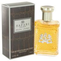 Safari By Ralph Lauren 2.5 oz Eau De Toilette Spray for Men
