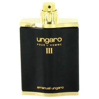 Iii By Ungaro 3.4 oz Eau De Toilette Spray Tester for Men