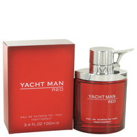 Yacht Man Red By Myrurgia 3.4 oz Eau De Toilette Spray for Men