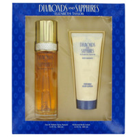 Diamonds & Saphires By Elizabeth Taylor Gift Set Body Lotion for Women