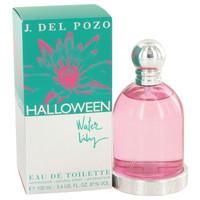 Halloween Water Lilly By Jesus Del Pozo 3.4 oz Eau De Toilette Spray for Women