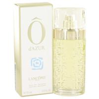 O D'Azur By Lancome 2.5 oz Eau De Toilette Spray for Women