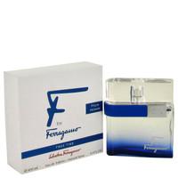 F Free Time By Salvatore Ferragamo 3.4 oz Eau De Toilette Spray Tester for Men