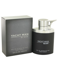 Yacht Man Black By Myrurgia 3.4 oz Eau De Toilette Spray for Men
