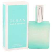 Warm Cotton By Clean 2.14 oz Eau De Parfum Spray for Women