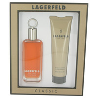 Lagerfeld By Karl Lagerfeld Gift Set with Shower Gel for Men