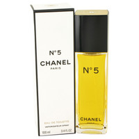 Chanel No. 5 By Chanel 3.4 oz Eau De Toilette Spray for Women
