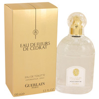 Eau De Fleurs De Cedrat by Guerlain 3.4 oz Eau De Toilette Spray for Women