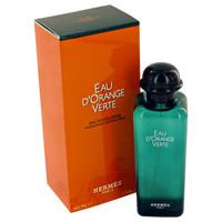 Eau D'Orange Verte by Hermes 1.7 oz Eau De Cologne Spray Refillable Unisex