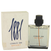 1881 Sport By Nino Cerruti 3.4 oz Eau De Toilette Spray for Men