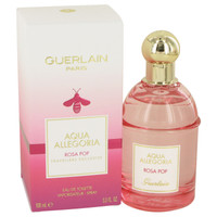 Aqua Allegoria Rosa Pop By Guerlain 3.3 oz Eau De Toilette Spray for Women