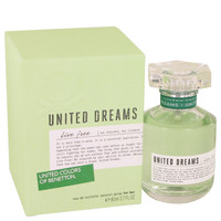 United Dreams Live Free By Benetton 2.7 oz Eau De Toilette Spray for Women