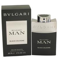 Man Black Cologne By Bvlgari 2 oz Eau De Toilette Spray for Men