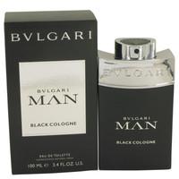 Man Black Cologne By Bvlgari 3.4 oz Eau De Toilette Spray for Men