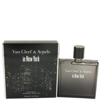 Van Cleef In New York By Van Cleef & Arpels 4.2 oz Eau De Toilette Spray for Men