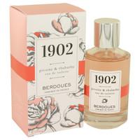 1902 Pivoine & Rhubarbe By Berdoues 3.38 oz Eau De Toilette Spray for Women