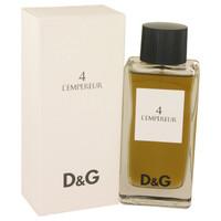 L'Empereur By Dolce & Gabbana 3.3 oz Eau De Toilette Spray for Men