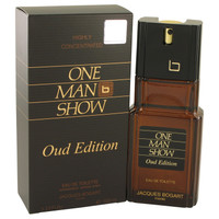 One Man Show Oud Edition By Jacques Bogart 3.4 oz Eau De Toilette Spray for Men