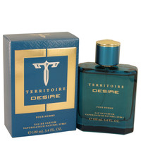 Territoire Desire By YZY Perfume 3.4 oz Eau De Parfum Spray for Men